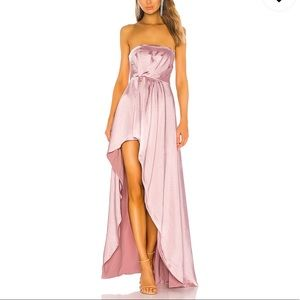 Lovers + Friends Gown Strapless Cocktail Dress NWT